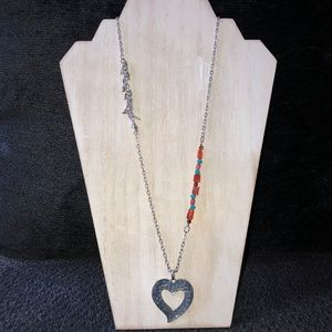 Handmade Desert Heart Necklace
